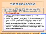 the fraud process22