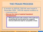 the fraud process23