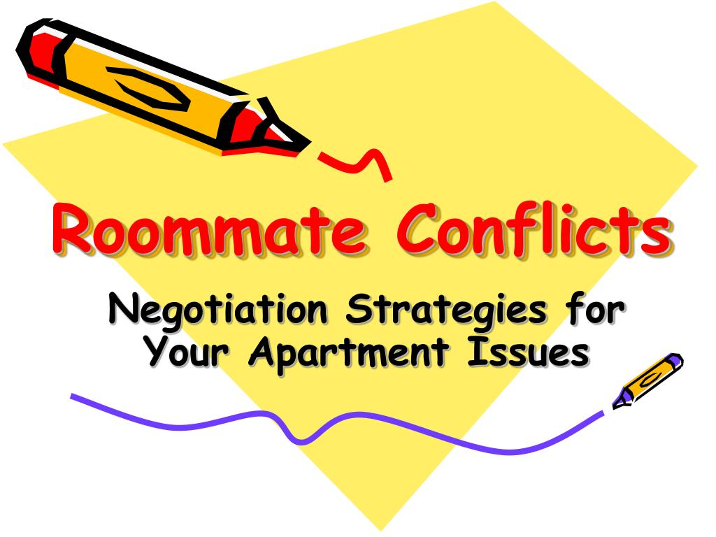 roommate conflicts l.
