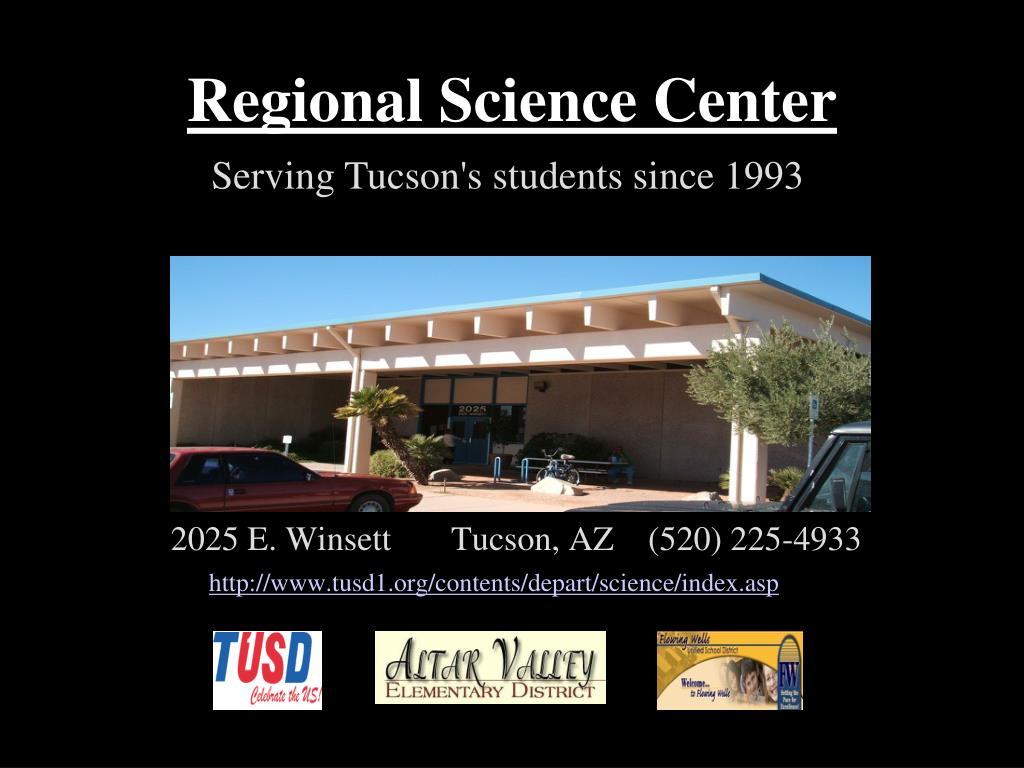 regional science center l.