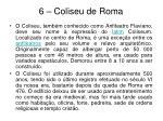 6 coliseu de roma