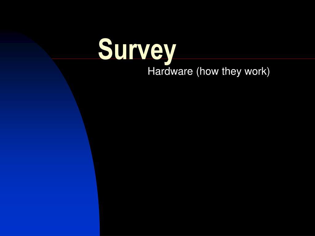 survey l.