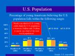 u s population16