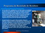 programa de reciclado de residuos20