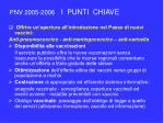 pnv 2005 2006 i punti chiave