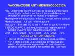 vaccinazione anti meningococcica