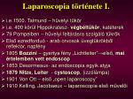 laparoscopia t rt nete i