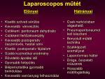 laparoscopos m t t