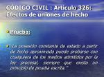 c digo civil art culo 326 efectos de uniones de hecho21