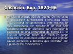 casaci n exp 1824 96