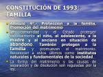 constituci n de 1993 familia