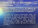 opini n de la doctrina nacional