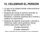 12 celebrar el perd n