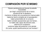 compasi n por s mismo