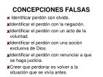 concepciones falsas