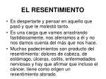 el resentimiento37