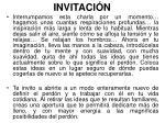 invitaci n