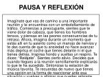 pausa y reflexi n18