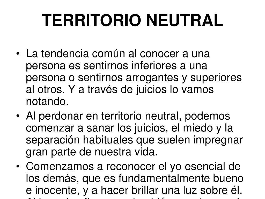 TERRITORIO NEUTRAL