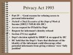 privacy act 1993
