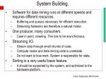 system building