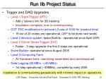 run iib project status