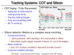 tracking systems cot and silicon