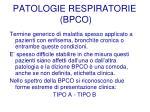 patologie respiratorie bpco15