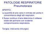 patologie respiratorie pneumotorace55