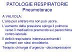 patologie respiratorie pneumotorace56