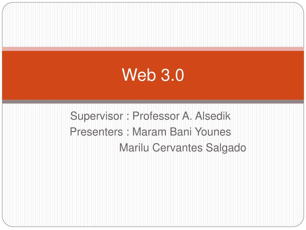 web 3 0 l.