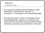 web 3 0 semantic web