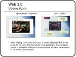 web 3 0 video web