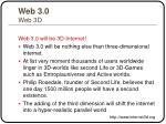 web 3 0 web 3d