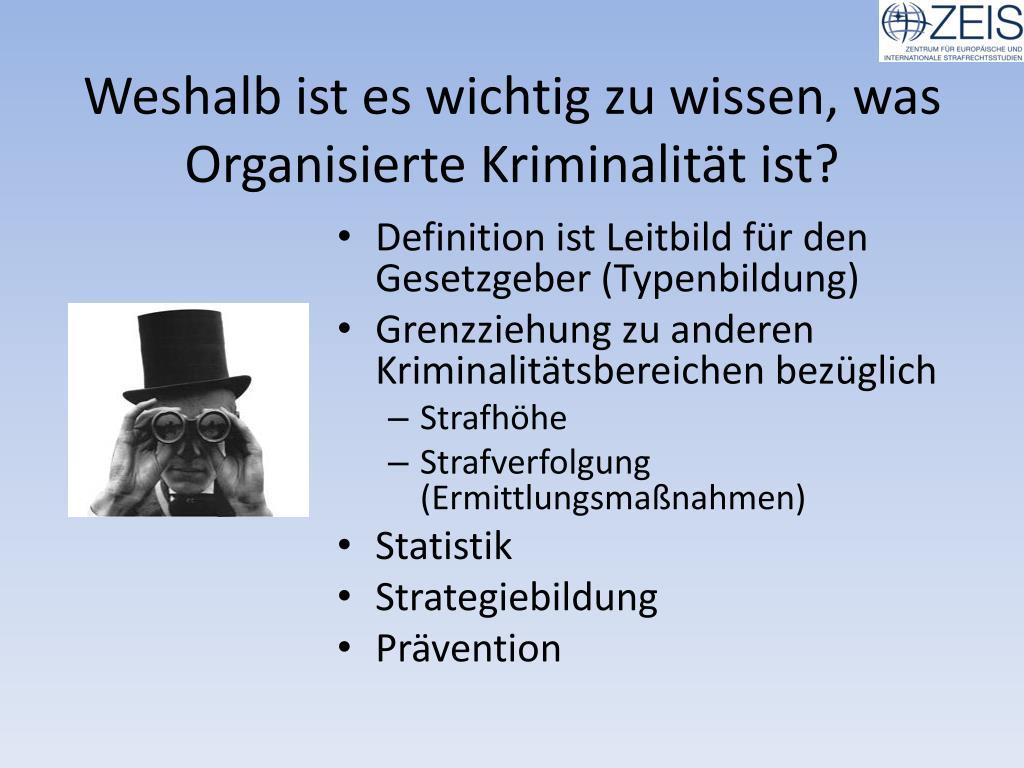 Organisierte