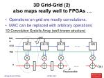 3d grid grid 2 also maps really well to fpgas