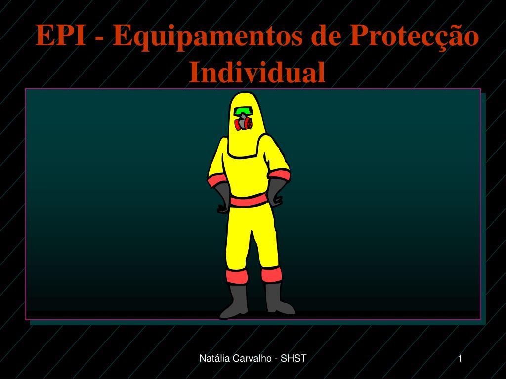 epi equipamentos de protec o individual l.