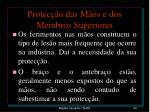 protec o das m os e dos membros superiores