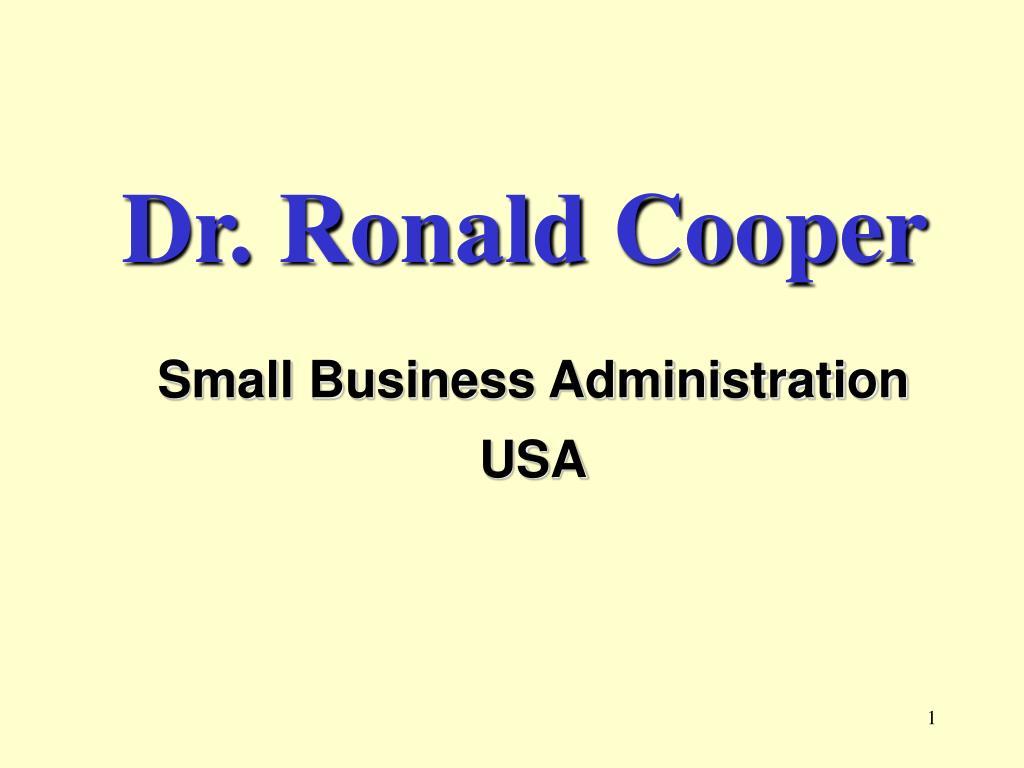 dr ronald cooper l.
