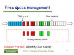 free space management14