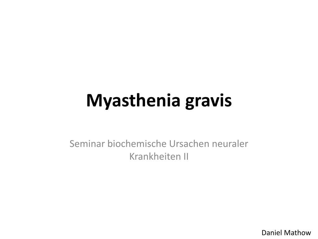 myasthenia gravis l.