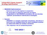 integrated logistic support strategy optimisation
