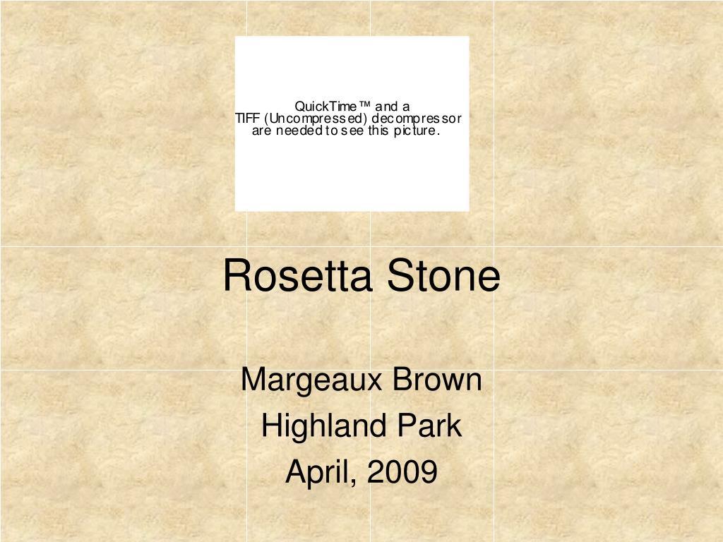 rosetta stone l.