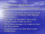 photovoltaic modules12