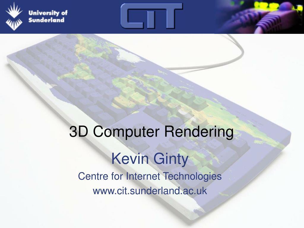 3d computer rendering l.