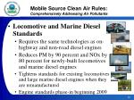 mobile source clean air rules comprehensively addressing air pollutants23