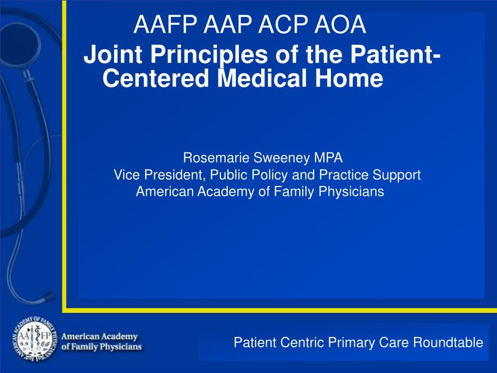 patient centric primary care roundtable l.