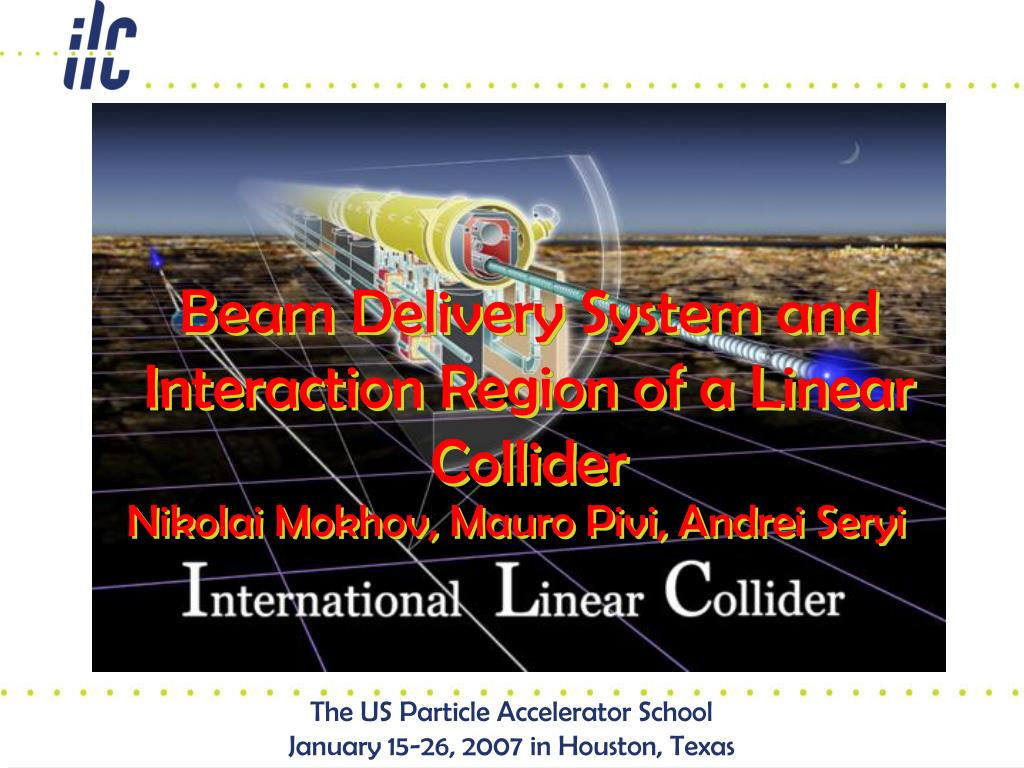beam delivery system and interaction region of a linear collider l.