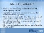 what is report builder