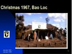 christmas 1967 bao loc